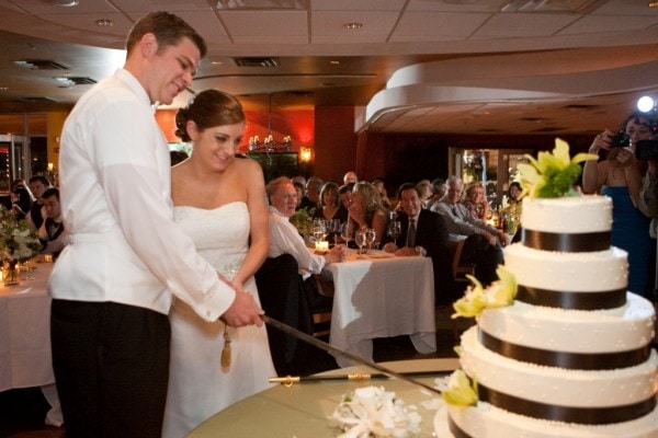 Cutting Cake with Sword