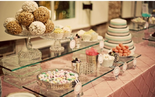 Parisian Pink Candy Bar Patisserie