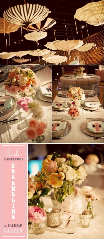 Parisian Baby Shower Dessert Table
