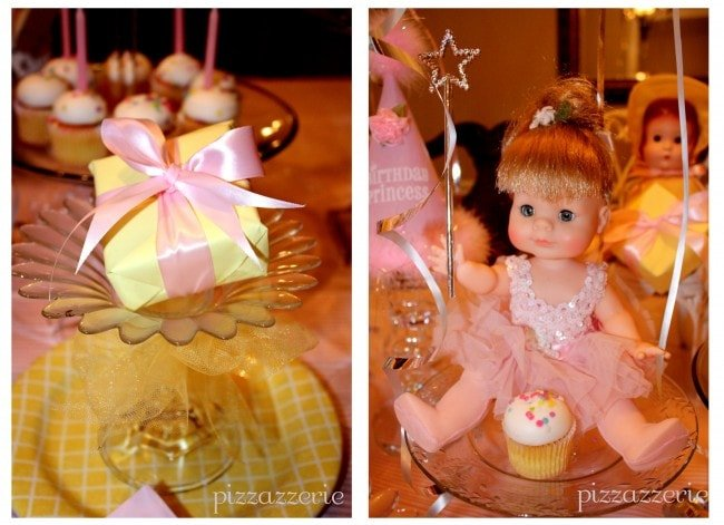 Pink Princess Party Favors