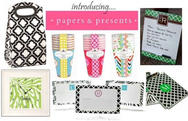 Hostess Gift Guide: Papers & Presents