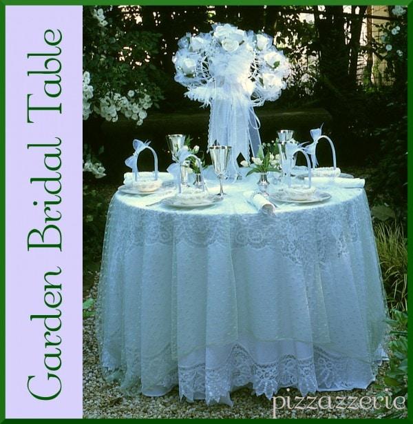 Garden Bridal Table