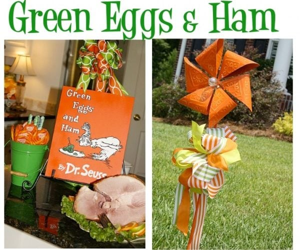 Dr. Seuss Party: Green Eggs & Ham