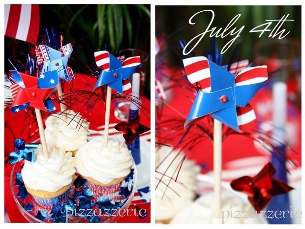 July 4th Cupcakes