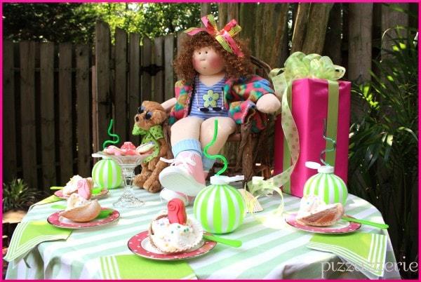 Seashell Girl's Ice Cream Birthday Party