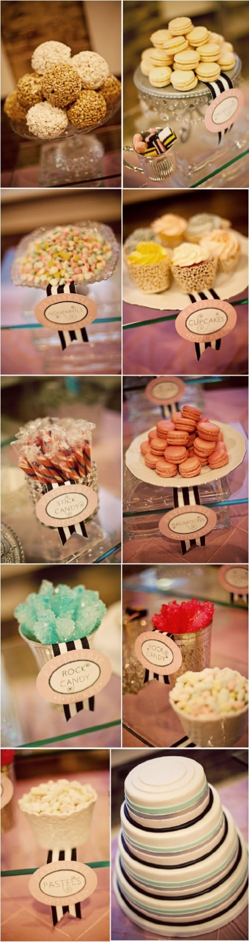 Candy Bar Dessert Table