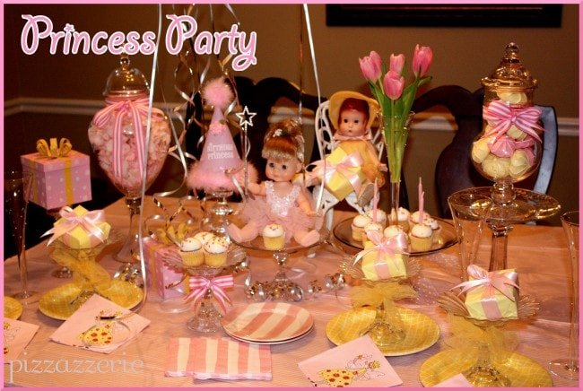 Princess Doll's Party
