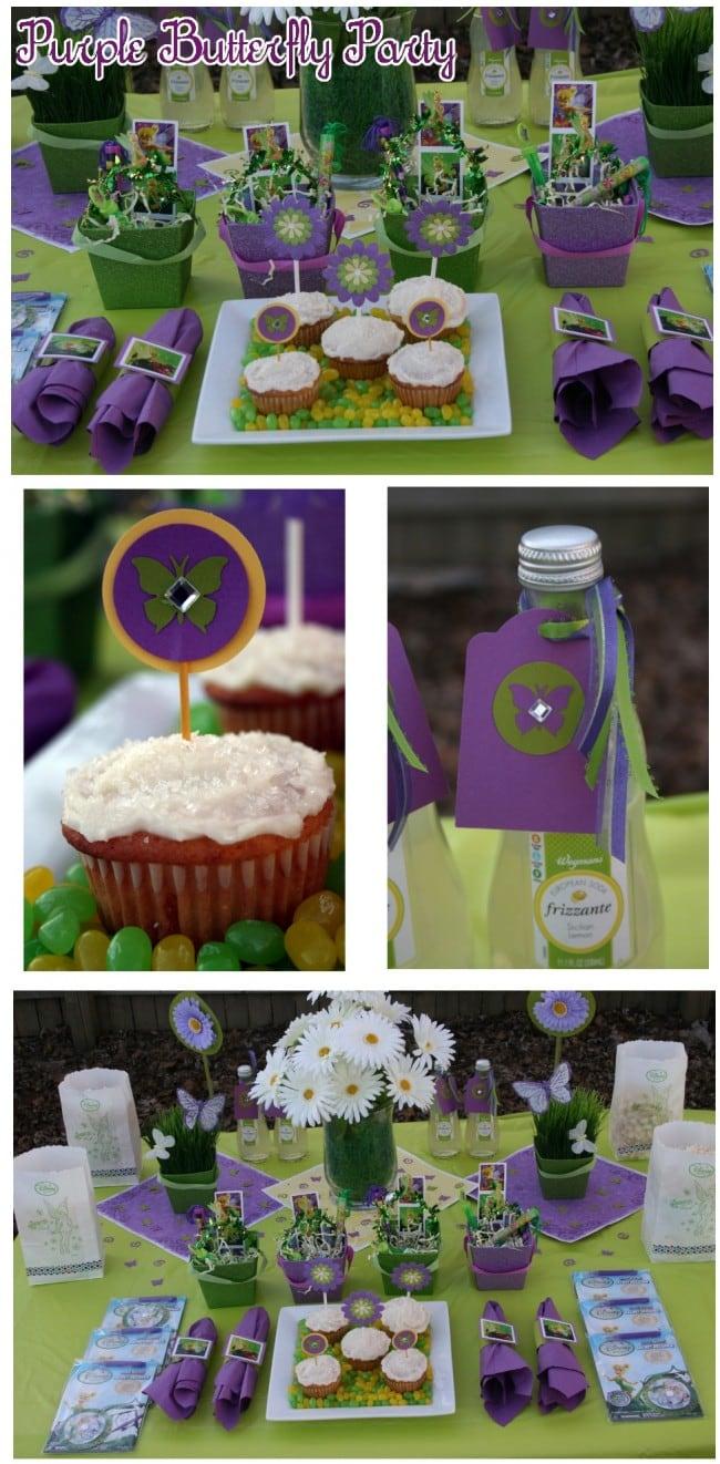 Purple Butterfly Party