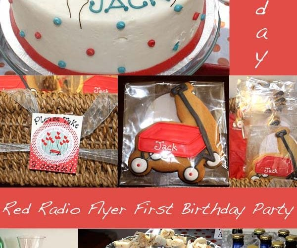Radio Flyer Birthday Party