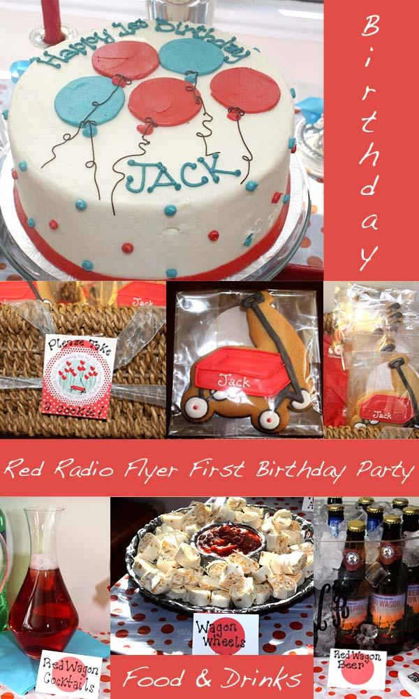 Radio Flyer Birthday Party Pizzazzerie