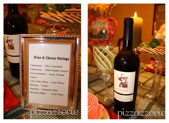 Wine and Cheese Pairing Party