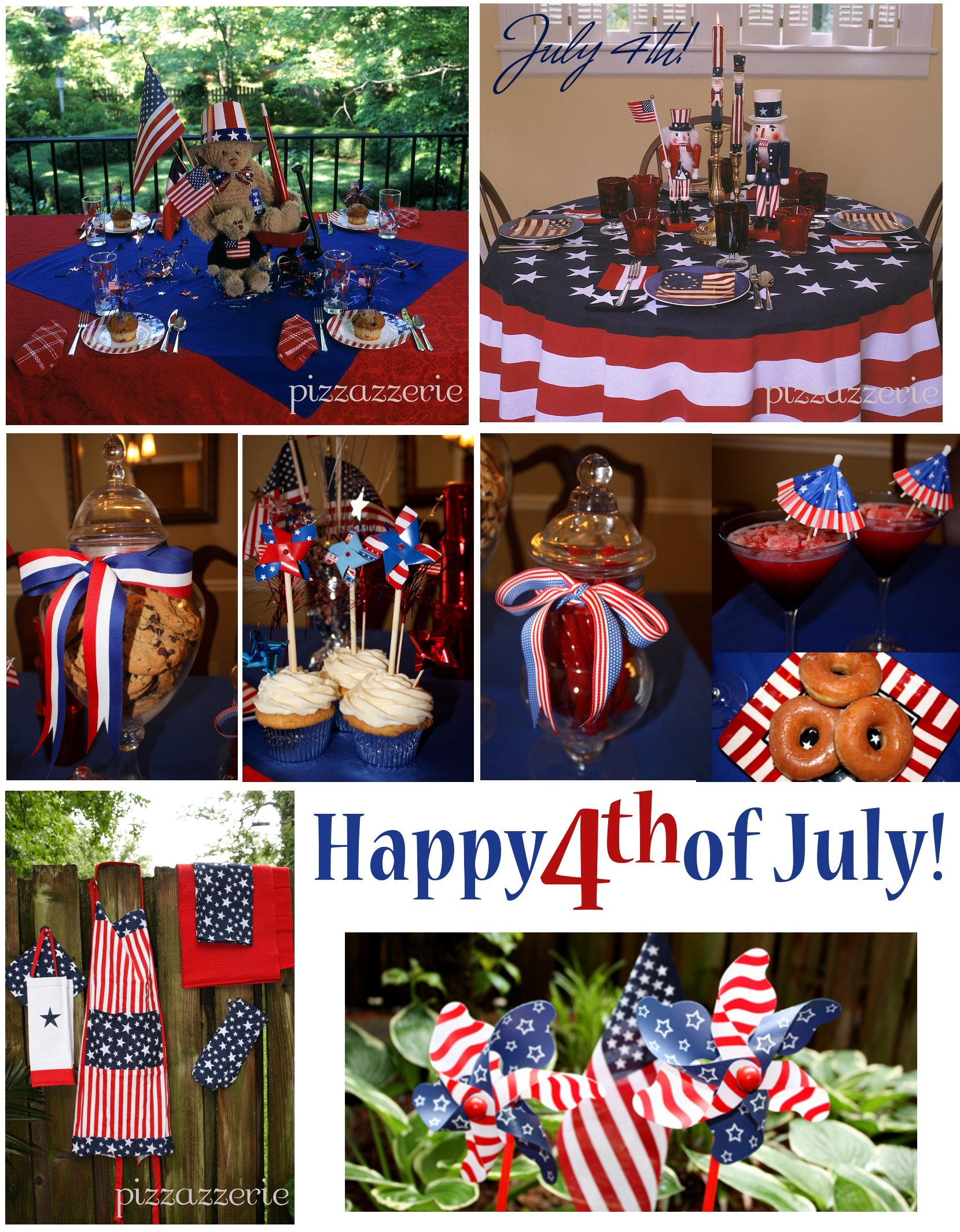 July 4th party ideas pizzazzerie for 4th of july celebration ideas