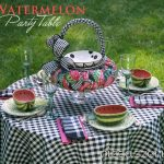 Watermelon Party Table