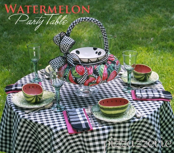 Watermelon Table