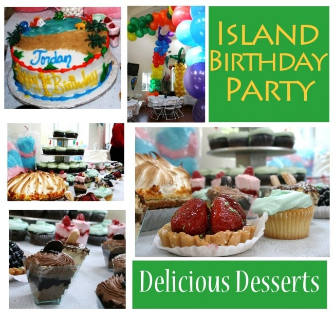 Caribbean Carnival Island Birthday Party