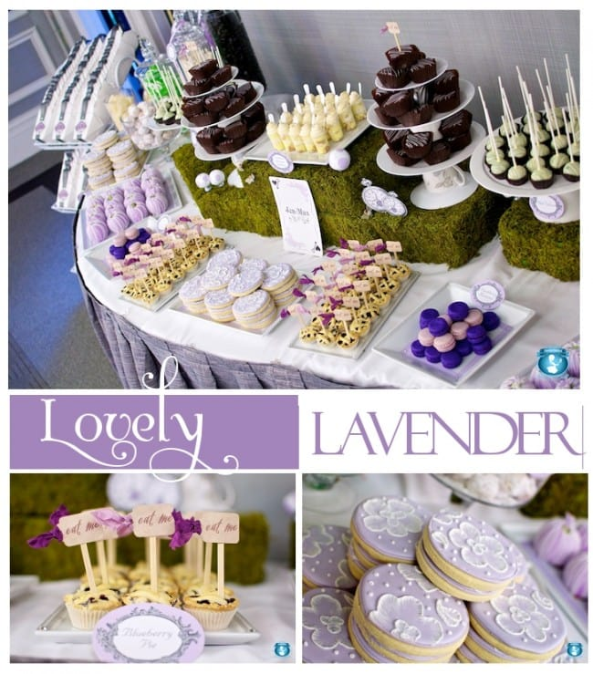 Lavender Dessert Party from Sweets Indeed