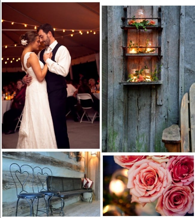 Rustic Vintage Farm Wedding