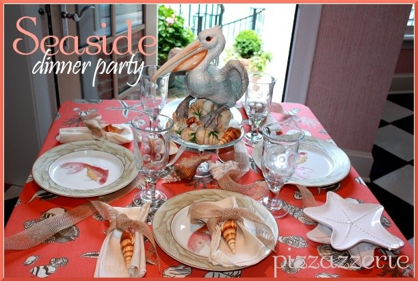 Seaside Dinner Party Table