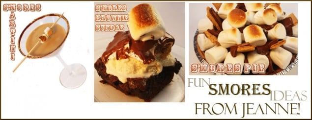 Smore Recipes from Jeanne Benedict