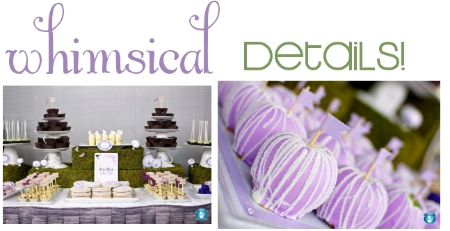 Lavender Whimsical Party from Sweets Indeed