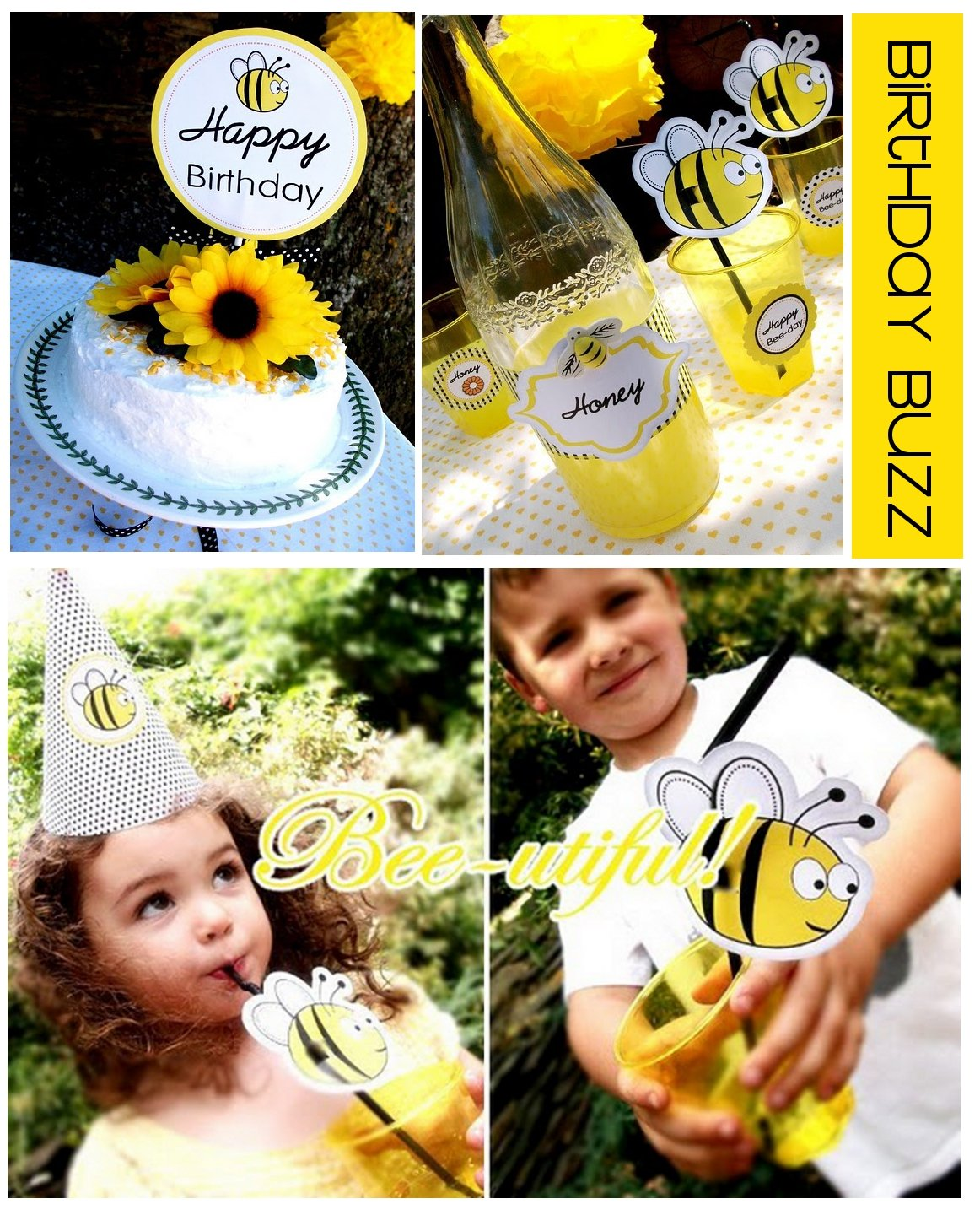 Bumble Bee Party Ideas Birthdays Showers