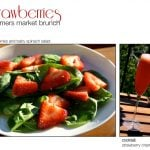 Strawberries: A Farmer's Market Brunch