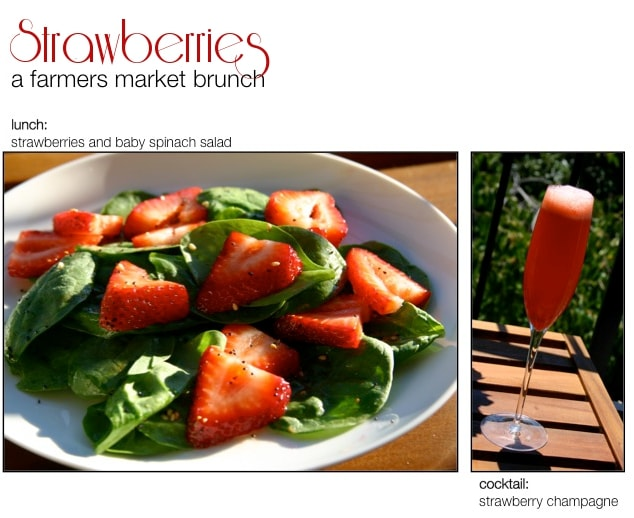 Strawberry Salad and Champagne Recipes
