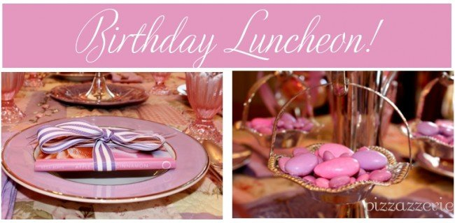 Pink & Purple Birthday Luncheon!