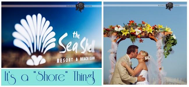 beach shore wedding