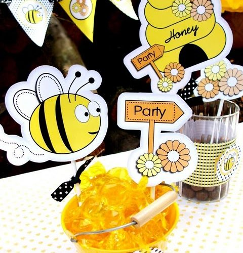 Bumble Bee Party Ideas: Birthdays & Showers