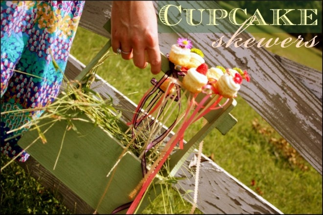 cupcake skewers
