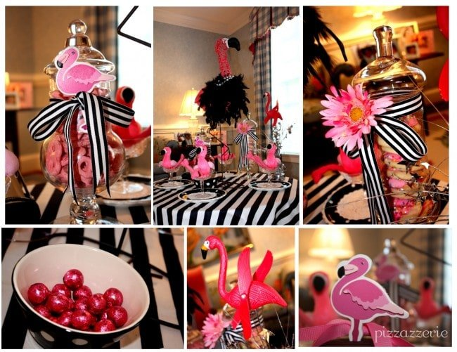 flamingo party pictures