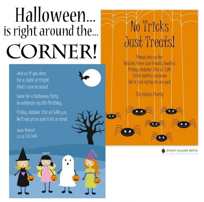 Halloween Party Invitations from Busy Bee Paperie