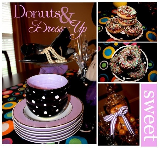 donuts and dress up party