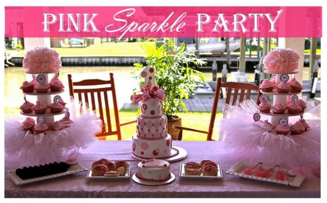pink sparkle party