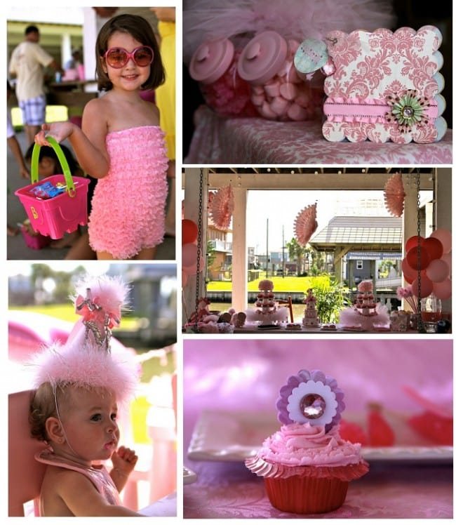pink sparkle birthday party
