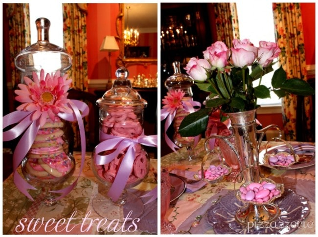 sweet treats pink and purple party