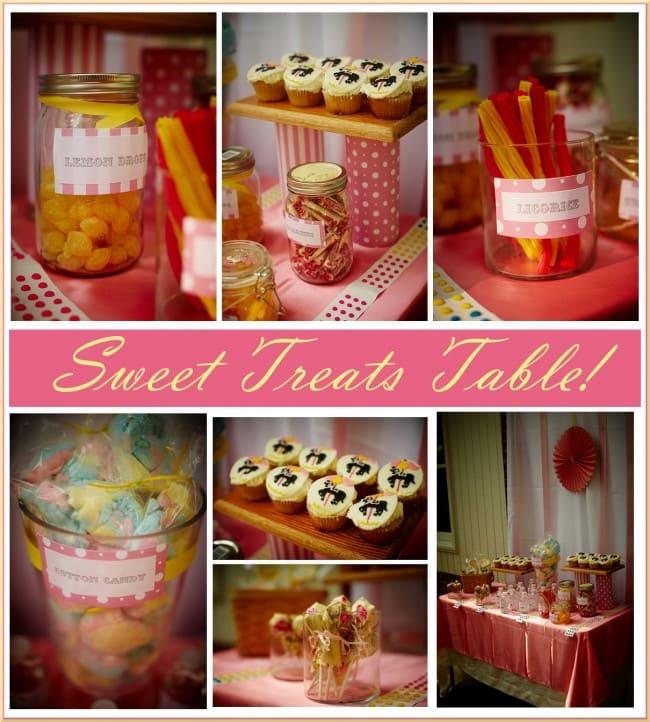 Vintage Sweet Treats Dessert Table