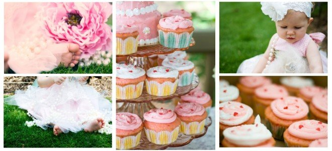 pink vintage shabby chic party
