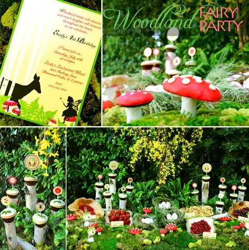woodland fairy party