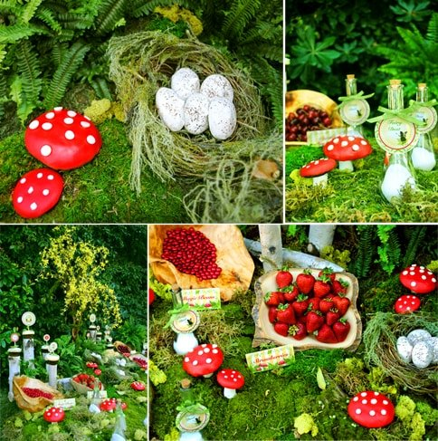 woodland fairy party by gwynn wason designs