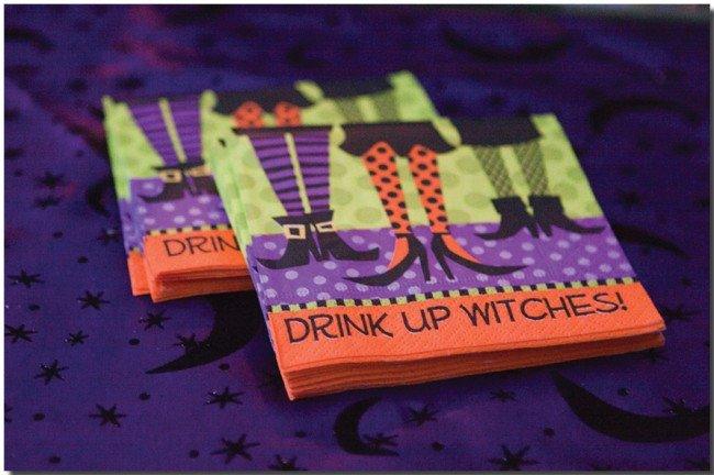 Witches Halloween Dinner Party Pictures