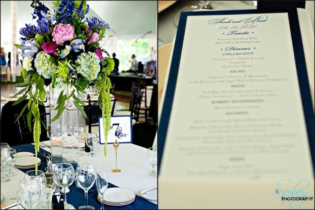 navy blue wedding pictures