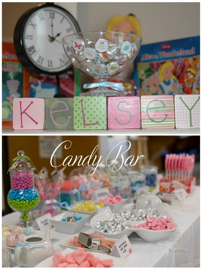 children's candy bar