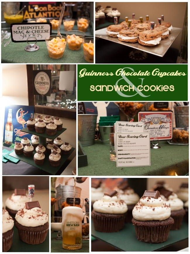Guinness chocolate cupcakes