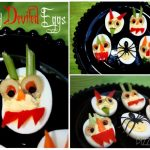 creepy deviled eggs for halloween