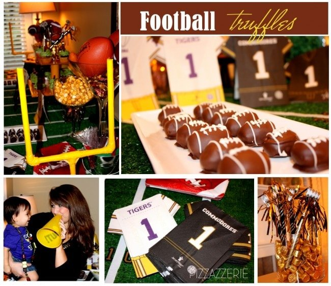 football table setting