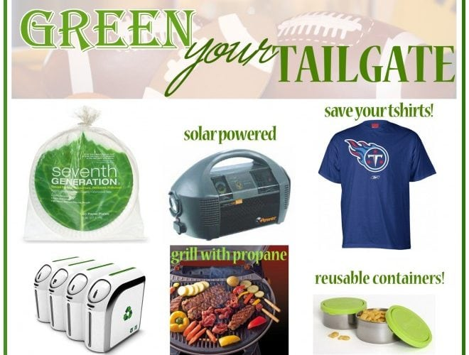 Green Your Tailgate Party!