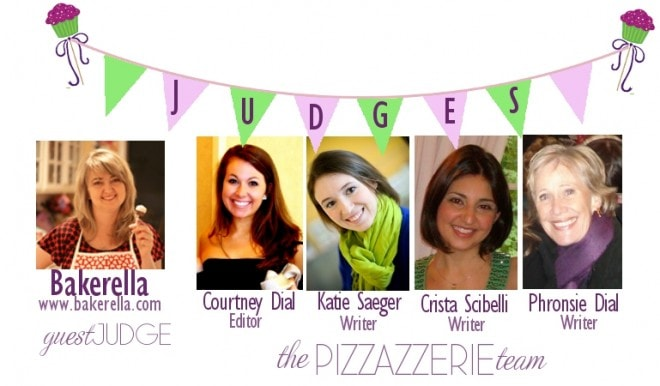 pizzazzerie team and bakerella cupcake skewer judges