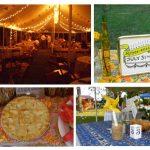 wildflower patchwork wedding